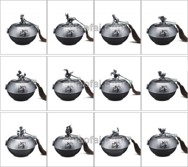 十二生肖茶葉罐