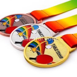 乒乓球獎牌