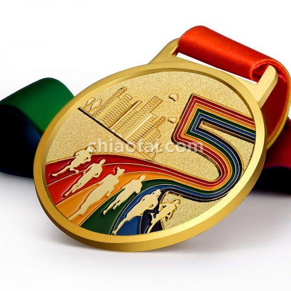 馬拉松獎牌